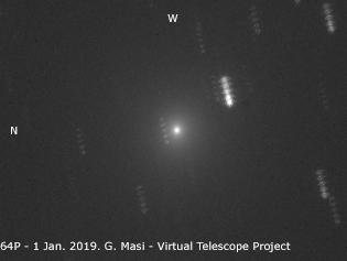 Comet 64P/Swift-Gehrels: 1 Jan. 2019