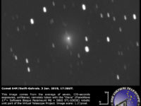 Comet 64P/Swift-Gehrels: 3 Jan. 2019