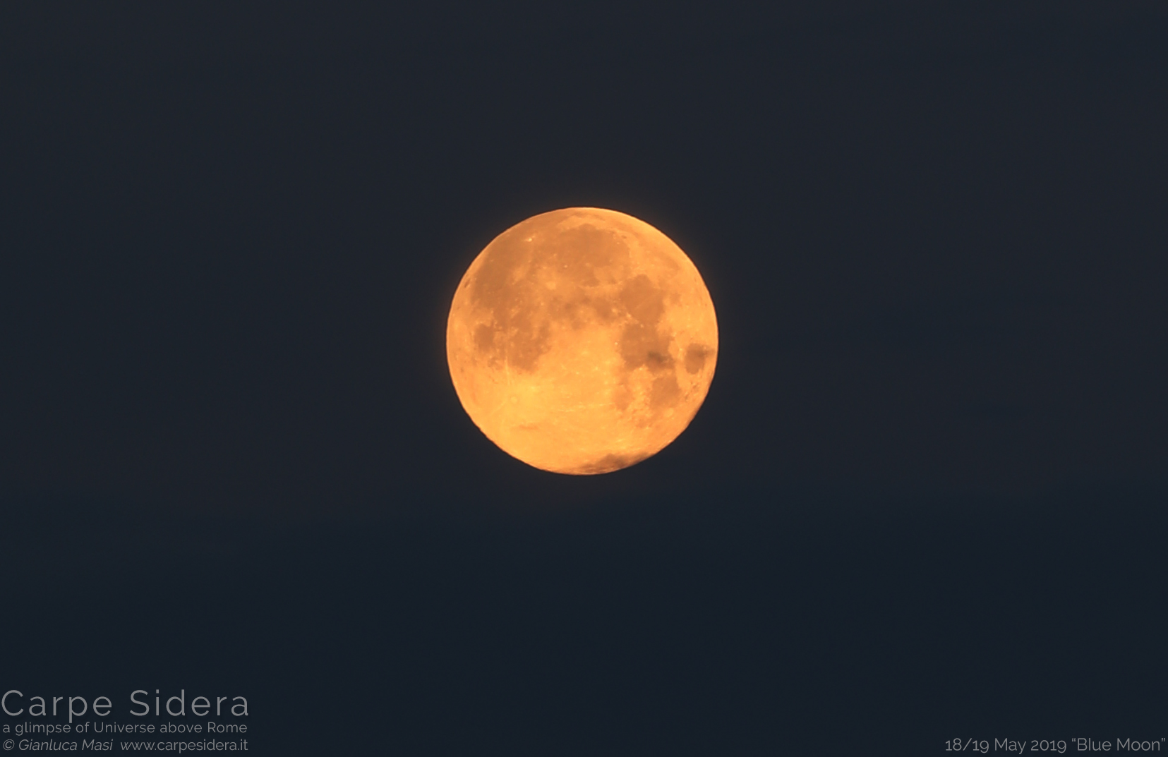 """The 18/19 May 2019 """"Blue Moon"""""""