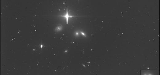 Supernova SN 2019ein in NGC 5353. 10 May 2019.