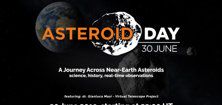 Asteroid Day 2019 at Virtual Telescope Project