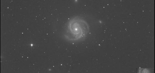 Supernova SN 2019ehk in Messier 100: 6 June 2019