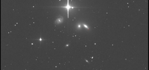 Supernova SN 2019ein in NGC 5353. 25 June 2019.
