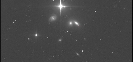 Supernova SN 2019ein in NGC 5353. 25 June 2019.