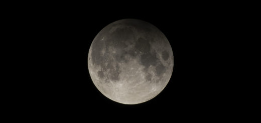 The 10 Jan. 2020 penumbral lunar eclipse - poster of the event
