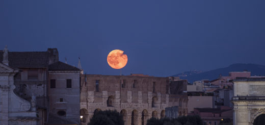 The 9 March 2020 Supermoon: poster of the event