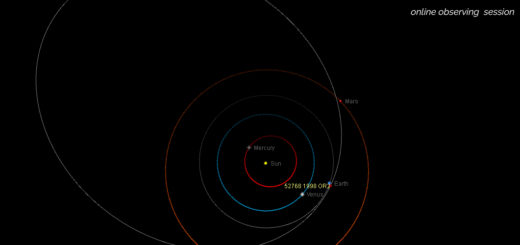 Potentially Hazardous Asteroid (52768) 1998 OR2: poster of the event