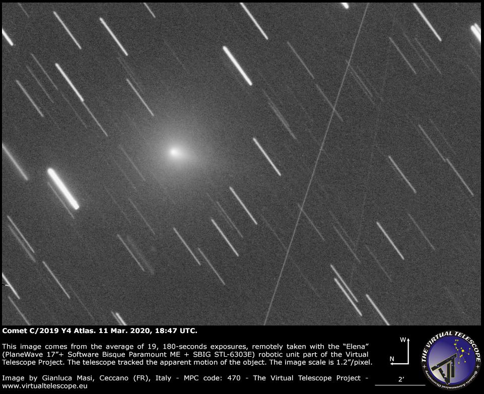 Comet C/2019 Y4 (Atlas): 11 Mar. 2020