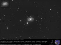Supernova SN 2020bio in NGC 5371. 24 Mar. 2020