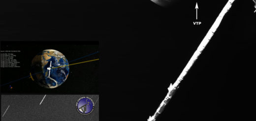 The mutual gaze between BepiColombo and the Virtual Telescope. 10 Apr. 2020