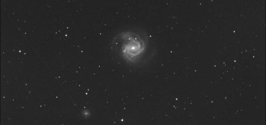 Supernova SN 2020jfo in Messier 61. 12 May 2020.