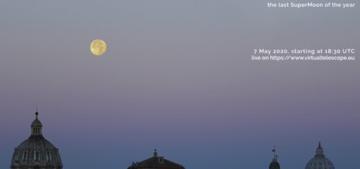 The Flower SuperMoon 2020: poster of the event