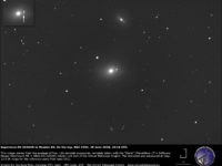 Supernova SN 2020nlb in Messier 85: an image - 29 June 2020