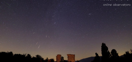 Perseids 2020: poster of the event