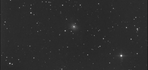 NGC 7722 and supernova SN 2020ssf. 8 Oct. 2020.