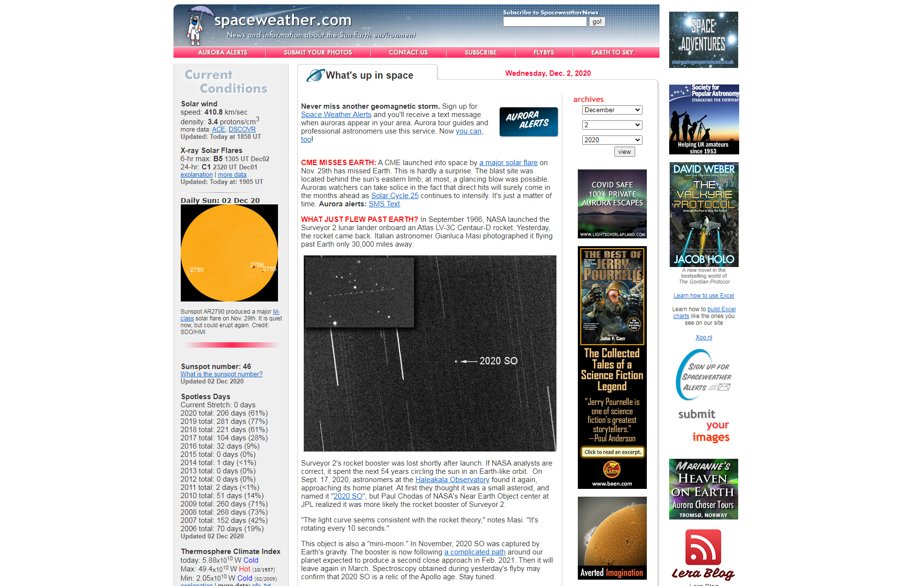 Spaceweather.com shared our images and finding.