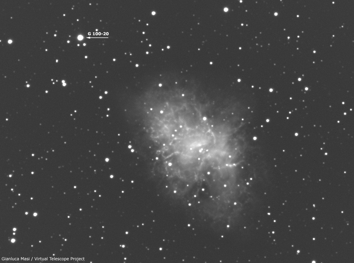 The High Proper Motion star G 100-20.