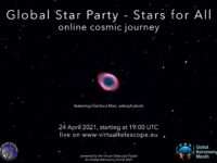 Global Star Party - Stars for All 2021.