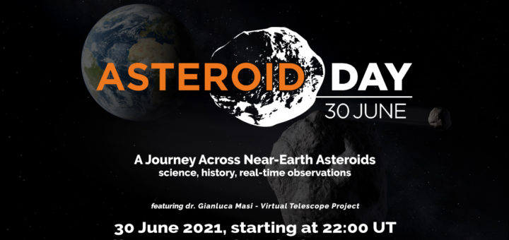 Asteroid Day 2021 at Virtual Telescope Project