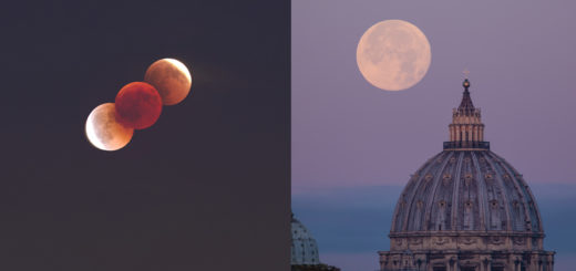 SuperBloodMoon 2021: poster of the event.