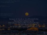International Observe the Moon Night 2021: online observation - 16 Oct. 2021