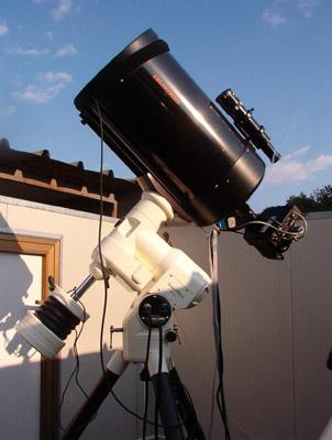 """Il telescopio con cui è stata effettuata la scoperta di (435127) """"Virtelpro""""."""